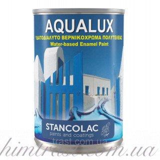 Акриловая краска на водной основе Aqualux 2040 для деревянных и металлических поверхностей, 2.5л