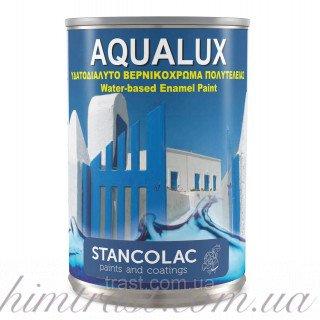 Акриловая краска на водной основе Aqualux 2090 для деревянных и металлических поверхностей, 0.75л