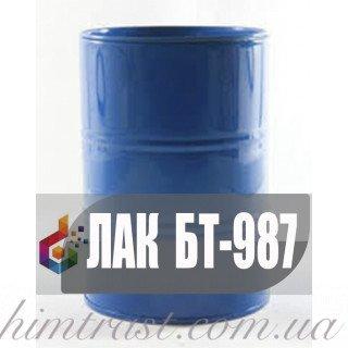 Лак битумный БТ-987, БТ-988