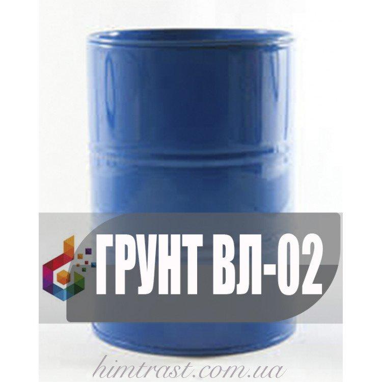 Грунтовка ВЛ-02 для защиты металла при межоперационном хранении, а также вместо фосфатирования и оксидирования