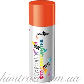 Эмаль флуоресцентная New Ton RAL: 3024 оранжевая 400 мл