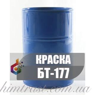 Антикоррозионная битумная Краска по металлу БТ-177 Серебрянка