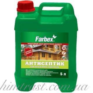 """Антисептик для деревянных поверхностей TM """"Farbex"""""""