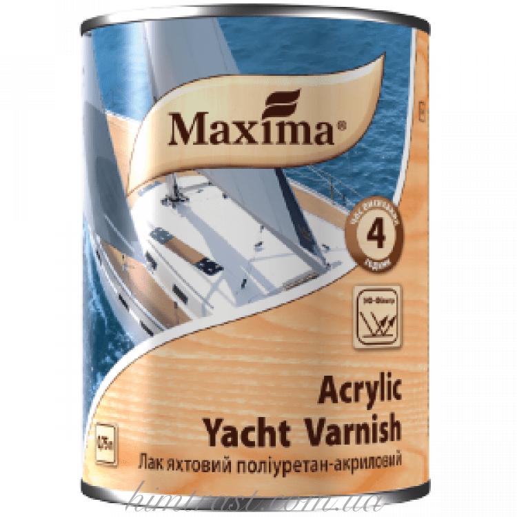 """Лак яхтный полиуретан-акриловый ТМ """"Maxima"""""""