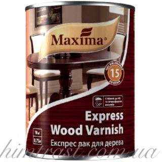 """Экспресс лак для дерева ТМ """"Maxima"""""""