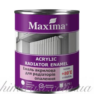 """Эмаль акриловая для радиаторов отопления ТМ """"Maxima"""""""
