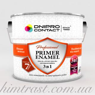 """Грунт-эмаль 3 в 1 """"Dnipro-Contact"""""""