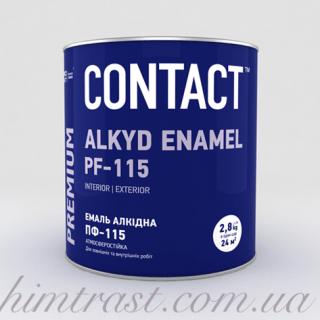 """Эмаль алкидная ПФ-115 """"CONTACT"""""""