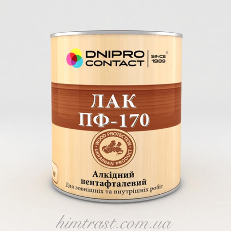"Лак алкидный ПФ-170 ""Dnipro-Contact"""