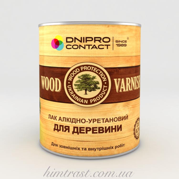 """Лак для древесины """"Dnipro-Contact"""""""