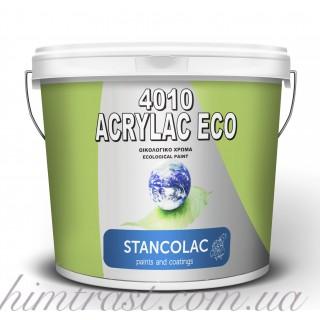 Гипоаллергенная акриловая латексная интерьерная краска Eco 4010 Stancolac