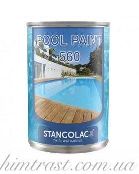 Краска для бассейна Pool Paint 560® Stancolac, 20л