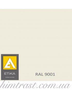 Краска порошковая полиэфирная Etika Tribo Белая RAL 9001 матовая<br />