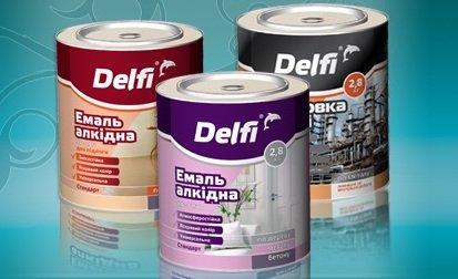delfi краска купить в компании Химтраст